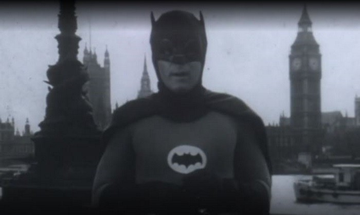 Lost Footage of Adam West as Batman in 1967 UK PSA