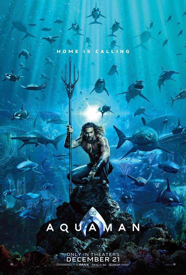 AQUAMAN - 1st Poster & More