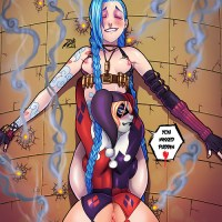 Harley Quinn always loved super-naughty women with guns...