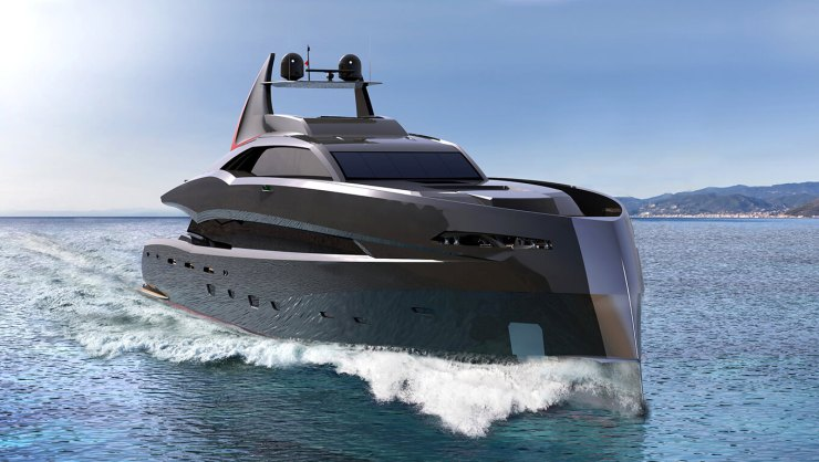 The Gotham Project batman super-yacht