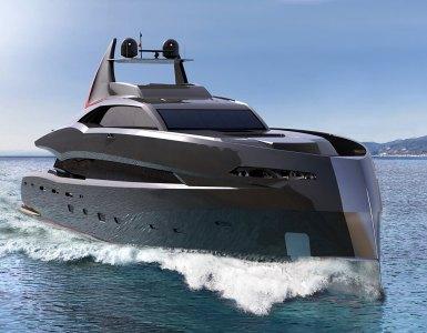 The Gotham Project batman super-yacht