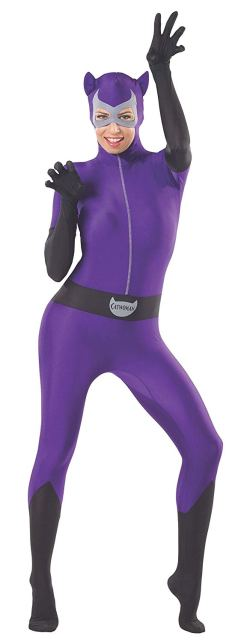 purple catwoman costume for sale