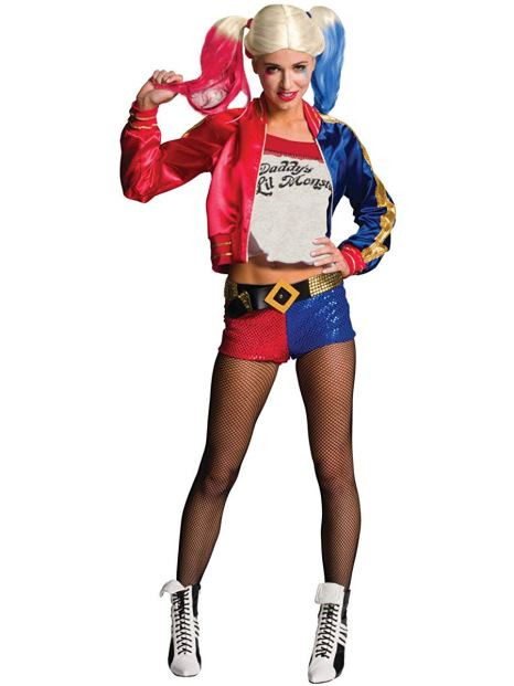 adult suicide squad harley quinn costume for sale