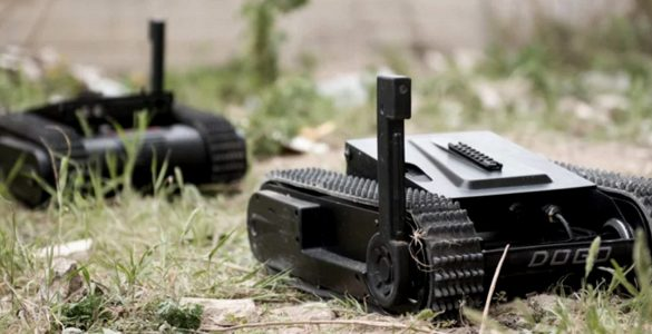 dogo tactical drone robot