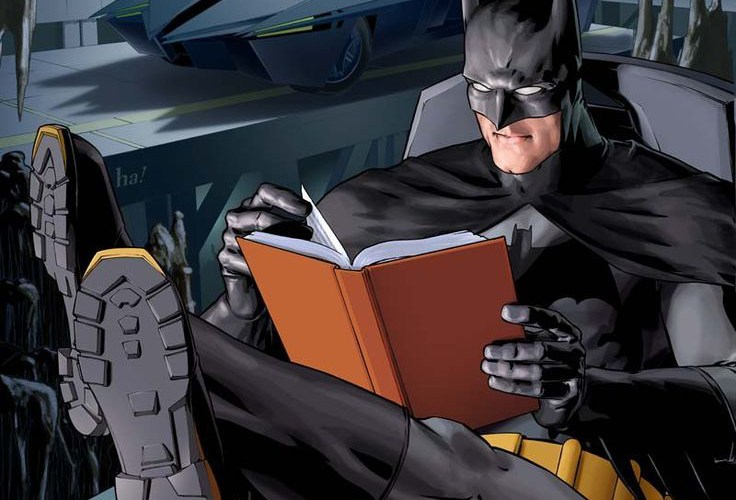 4 books that help you become batman