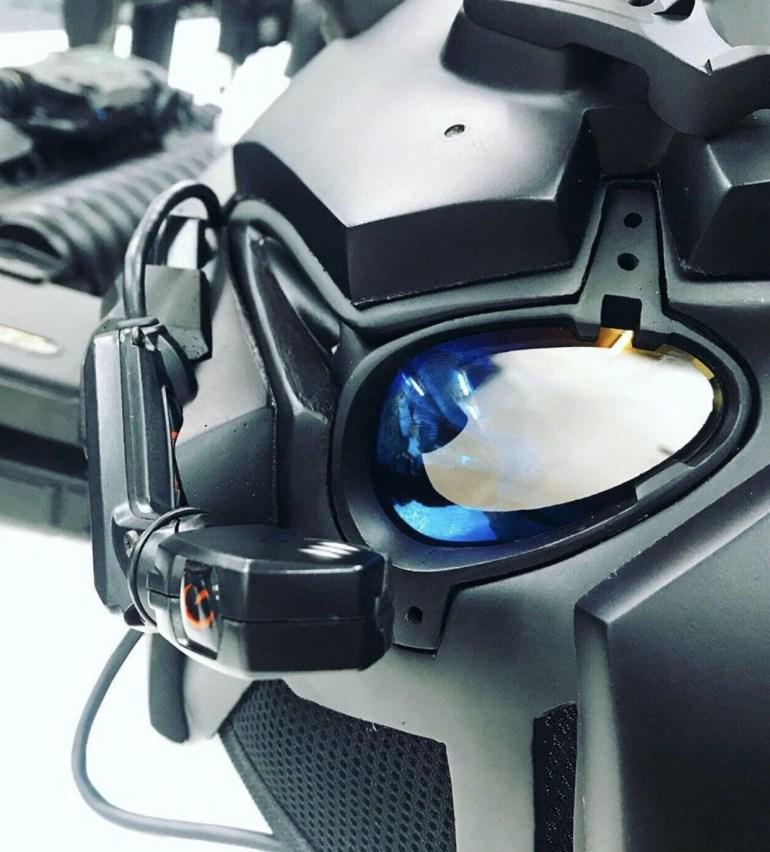 Ronin helmet heads up display