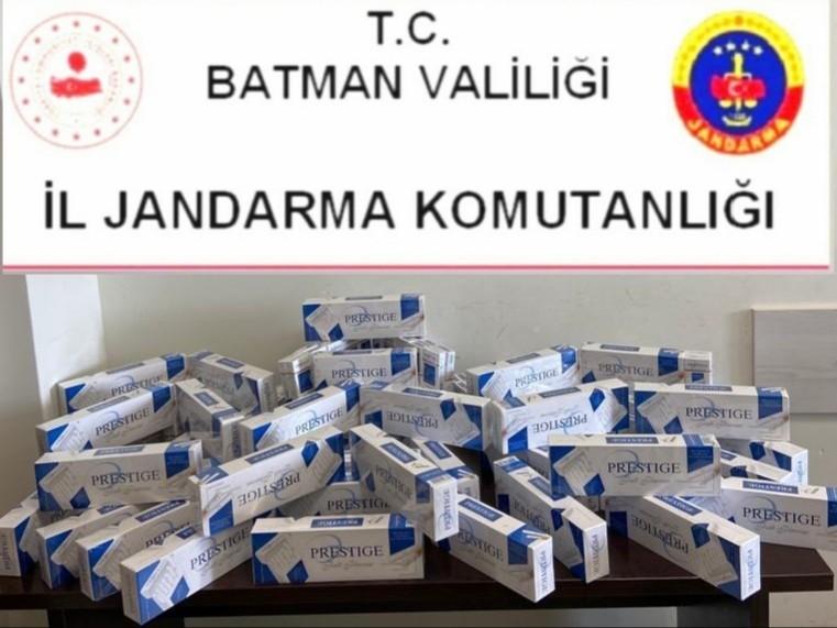 Batman'da kaçakçılık operasyonu: 44 gözaltı