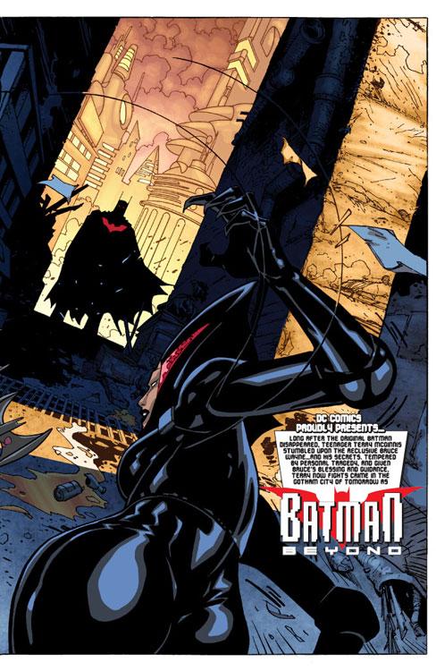 Batman Beyond 4 Spoilers Amp Preview