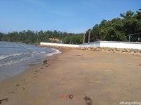Pantai Pulau Datok dipagi hari