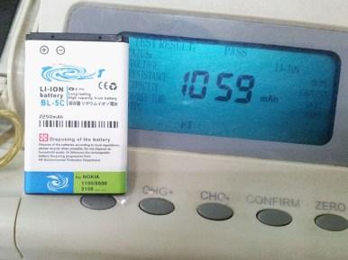 Baterai BL5C merk KLT