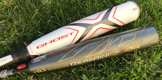 2019 DeMarini CF Zen vs 2019 Easton Ghost X Travel Ball Bat