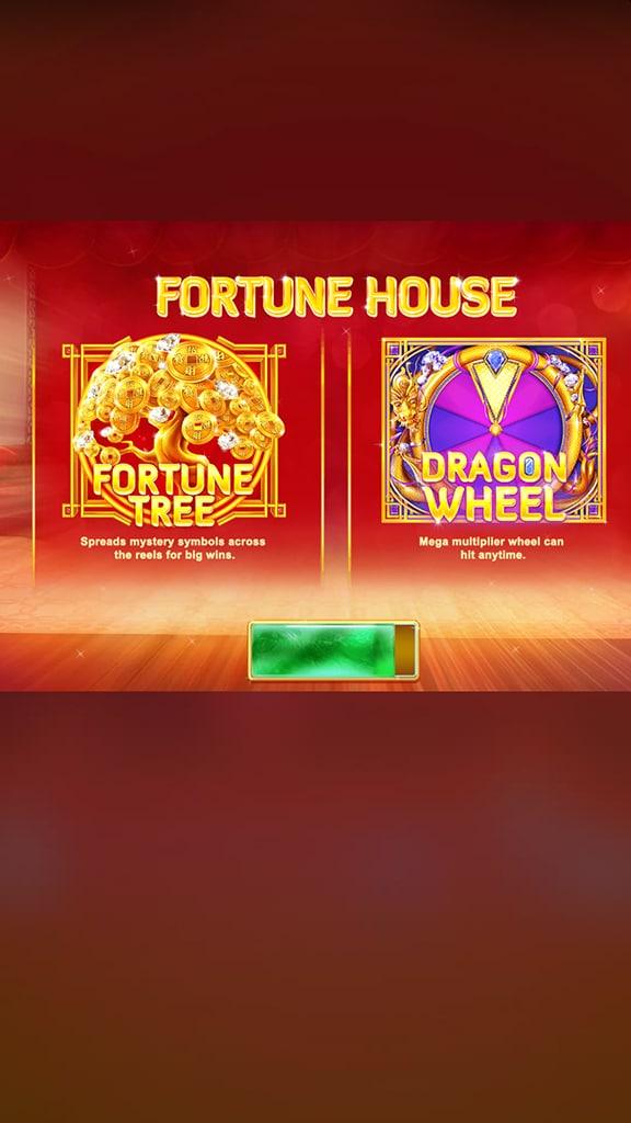 ทดลองเล่นฟรี FORTUNE HOUSE สล็อตออนไลน์จาก ค่าย RED TIGER ออกแบบเกมส์โดยใช้สัญลักษณ์ธีมจีนโบราณใช้สีแดงและสีทอง สีความโชคดี ที่ batslot369