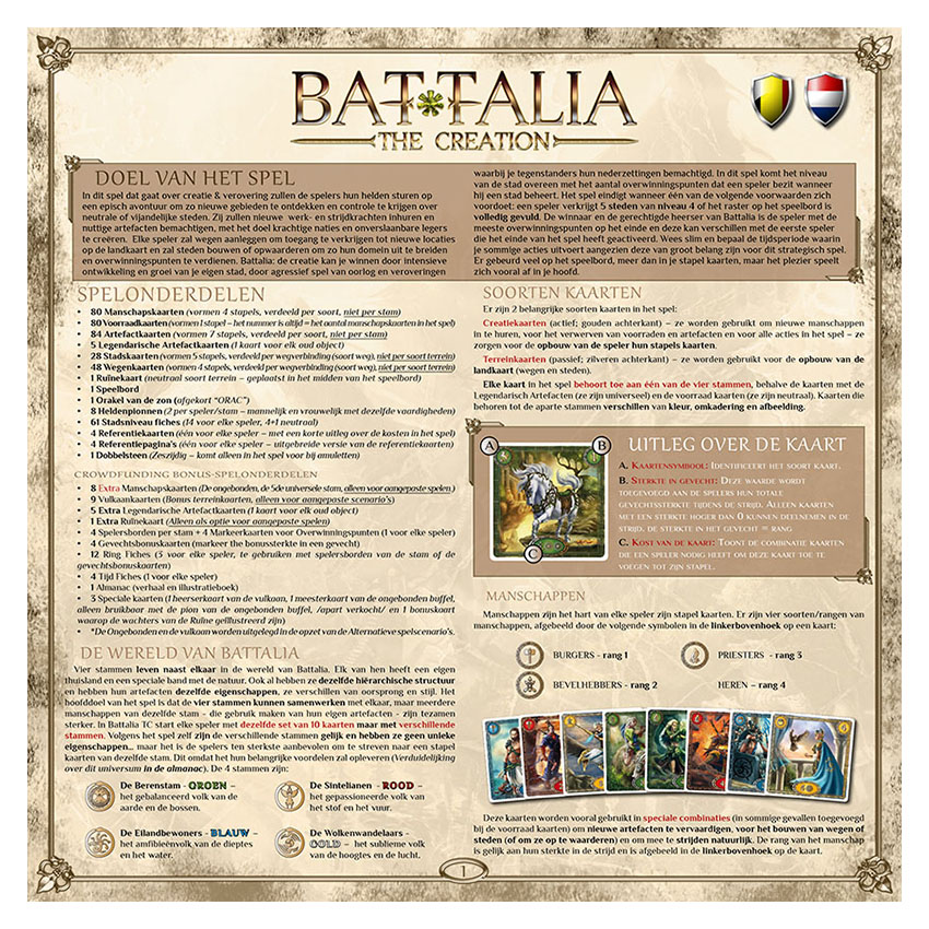 BATTALIA - RULEBOOK CEdition - BE-NL - WEB v1.0