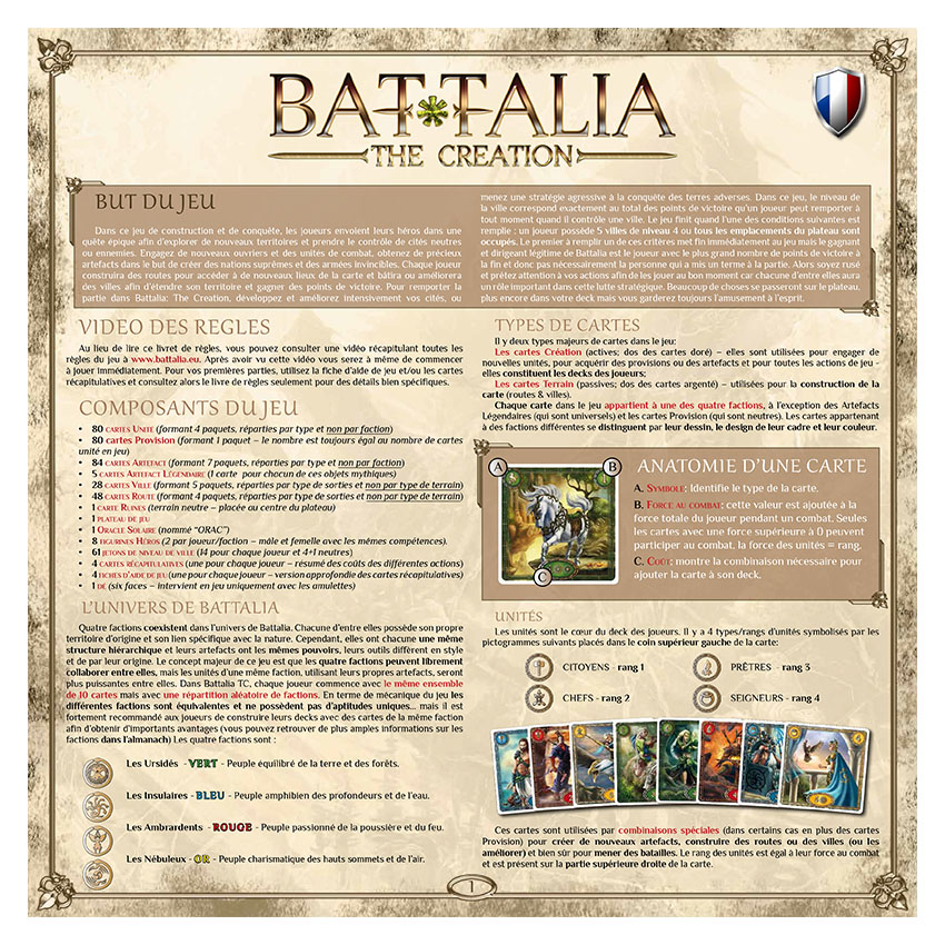 BATTALIA - RULEBOOK OLD - FRENCH - WEB v1.1