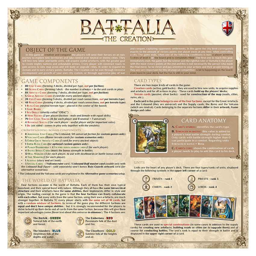 BATTALIA - RULEBOOK CEdition - EN - WEB v1.0