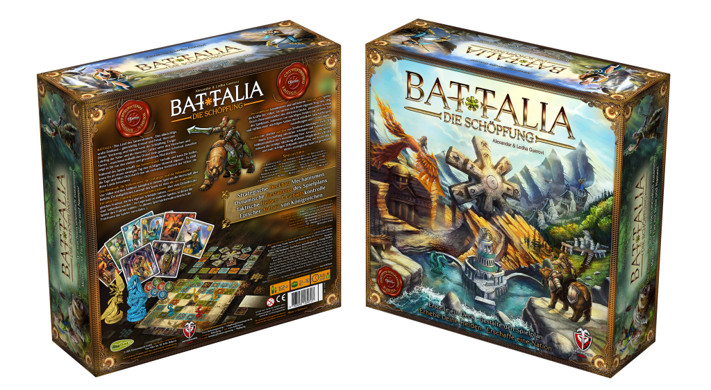 BATTALIA: Die Schöpfung - 3D Box BL2+R2 - CEdition 2015 - DE - HQ1500