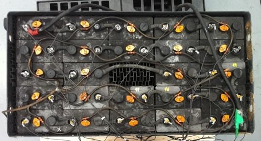 Identificados los elementos averiados de la batería de tracción