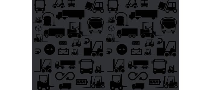 Baterías de barcos, baterías de SAI's, sistemas de información, carritos de golf, trenes, camiones y todo tipo de maquinaria industrial. Baterías de carretillas elevadoras, carros tractores y transpaletas; apiladores, trilaterales, transpaletas compactas, contrapesadas, tractores de arrastre etc.
