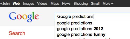 John Battelle's Search Blog Predictions 2012 #4: Google's
