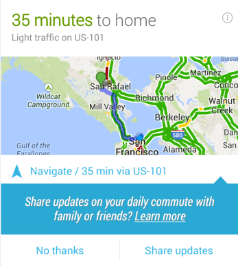 share daily commute