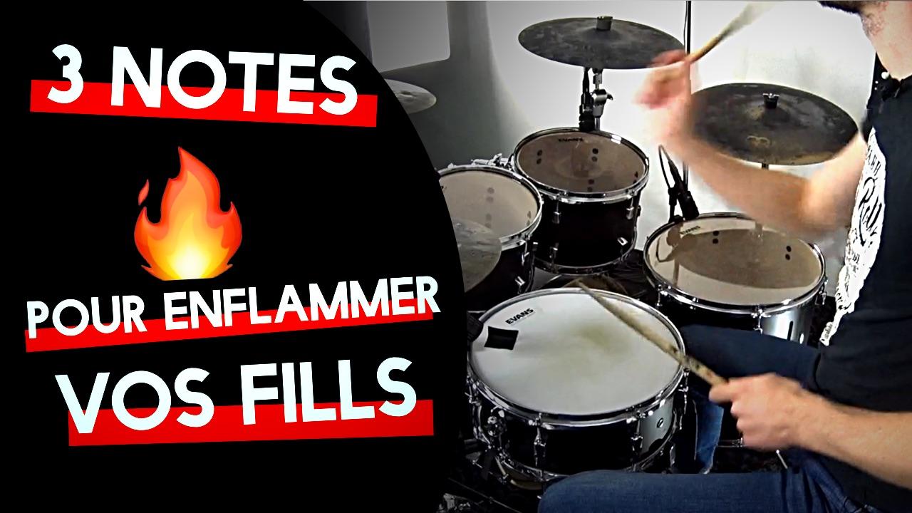 3 notes pour enflammer vos fills