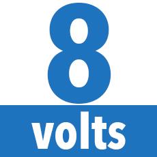 8 volts