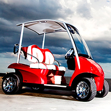 Cart ou voiturette de golf