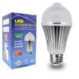 Ampoule LED 5W 12V + Détecteur de mouvement