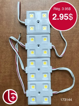 LED blanc chaud, vendu à l'unité.. Pour projet brico. 1 en stock