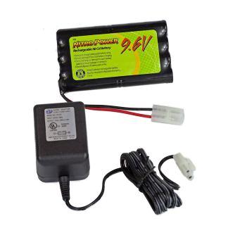batterie téléguidé 9.6 volt avec chargeur
