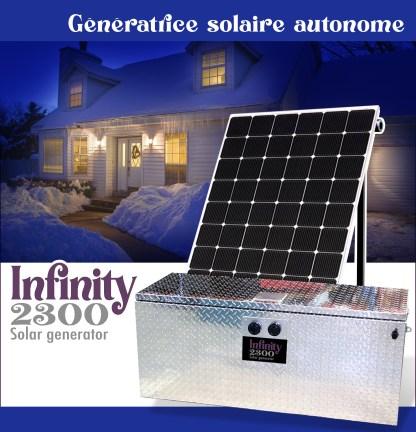génératrice solaire infinity 2300