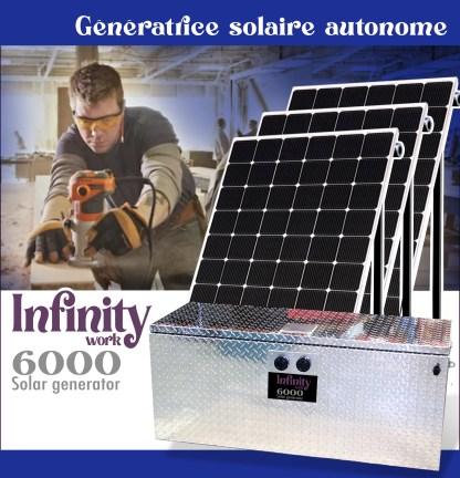 Génératrice solaire Infinity Work 6000