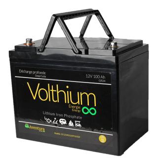 batterie volthium 12v 100A lithium