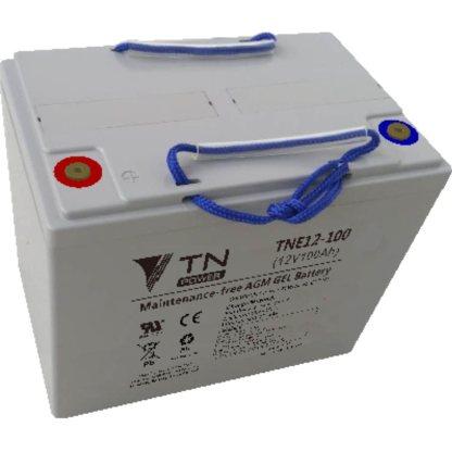 TNE12-100 batterie agm gel