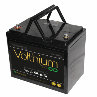 batterie volthium bluetooth 12v 100A