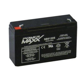 SB6120S batterie 6 volts alarme