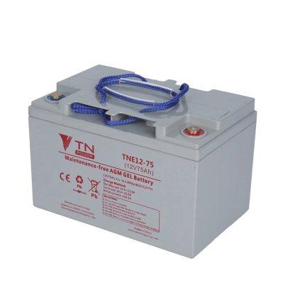 batterie agm gel TNE 12volts 75 amperes