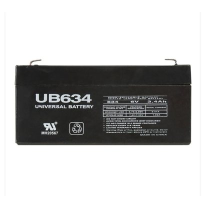 UB634 batterie alarme 6 volts