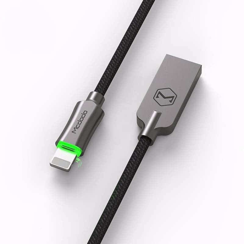 Mcdodo Lightning cable with auto disconnect