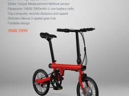 Xiaomi kündigt Mi QiCYCLE Fahrrad an