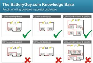 Connecting batteries in parallel – BatteryGuy