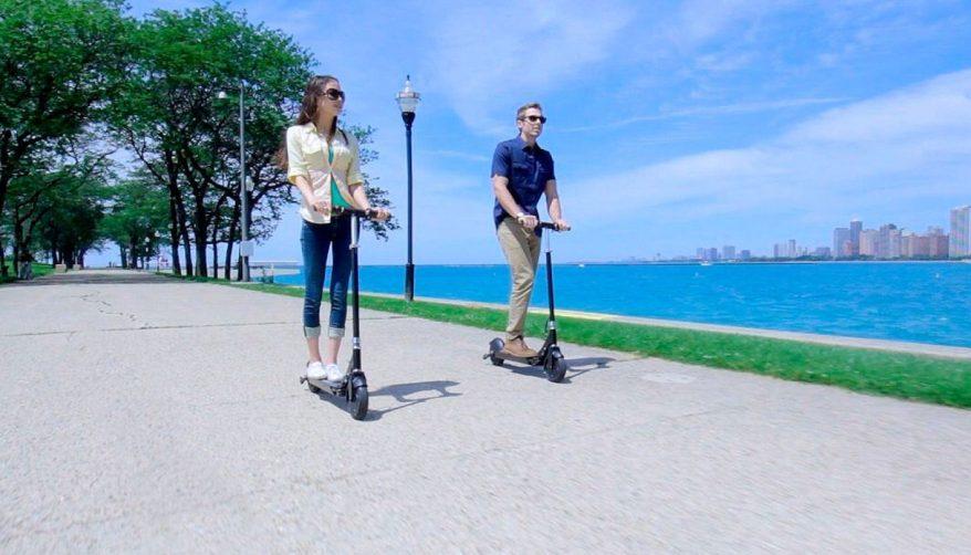 Resultado de imagen para scooters electricos cuidado del medio ambiente