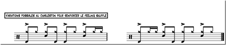 sledgehammer variations charleston shuffle