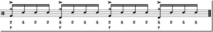 break simple paradiddle 5