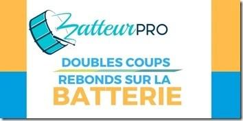cours de batterie doubles coups double coup de baguette