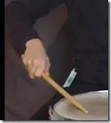 roulement de tambour press rolls