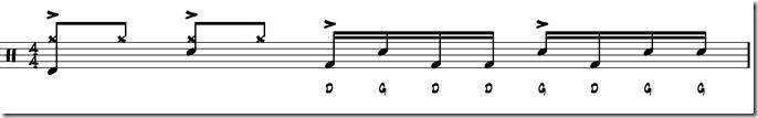 break simple paradiddle 1