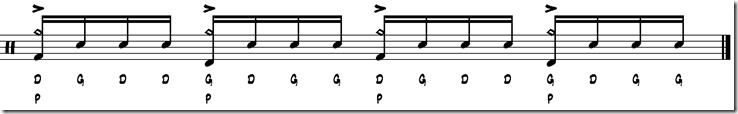 break simple paradiddle 5