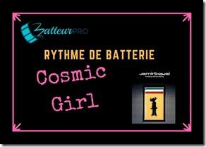 cosmic girl apprendre a jouer de la batterie funk