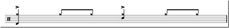 jouer de la battrie accents cymbale latin 1